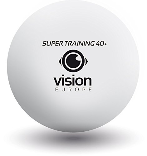 VISION Super Training 40+ Plastic Table Tennis Balls