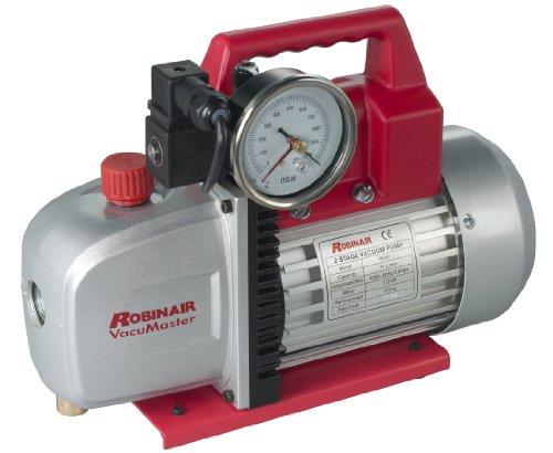 (Robinair (15501) VacuMaster Economy Vacuum Pump - 2-Stage, 118 liters/minute)
