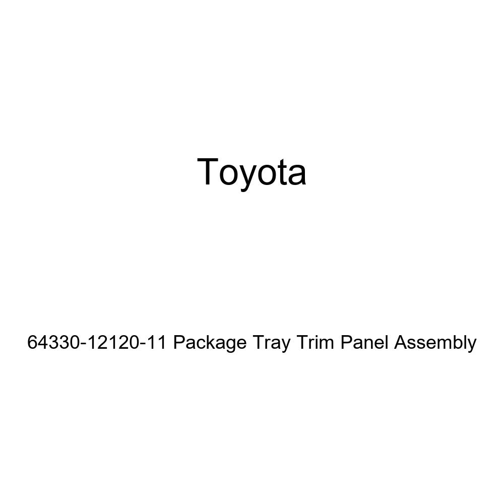 Toyota Genuine 64330-12120-11 Package Tray Trim Panel Assembly