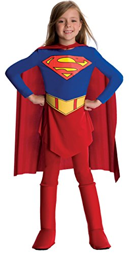 Supergirl Child Costume - Medium (Buy Superhero Costume)