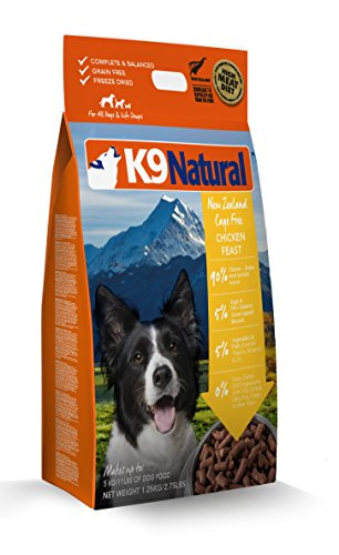 K9 Natural/Feline Natural Freeze Dried Pet Food, 2.75-Pound, Chicken