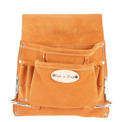 Style n Craft 91-8238 Pocket Suede Tool Pouch