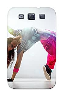 CNEcpV-715-qqlTo New Galaxy S3 Case Cover Casing(Breakdance Girl)/ Appearance