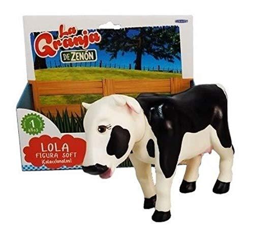 Amazon.com: La Granja de Zenon Vaca Lola Figura Soft: Toys ...
