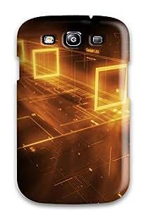 Craigmmons FOnDJWj252BgjPN Protective Case For Galaxy S3(cgi 3d Abstract Cgi)