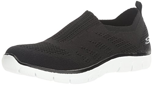 Sneaker Women Black Look Sport Fashion Skechers Inside Empire SwCg5SYq