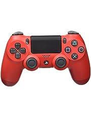 Sony DualShock 4 Controller voor PlayStation 4, zwart, rood - Accessoires voor videogames (controller voor Playstation 4, analoog/digitaal, D-pad, Home-knop, selectie, Start, draadloos, USB 2.0)