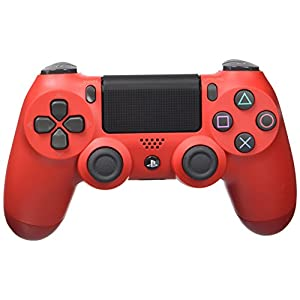 Sony – Dualshock 4 V2 Mando Inalámbrico, Color Rojo (Magma Red) (PS4) 41n8FWC2sEL