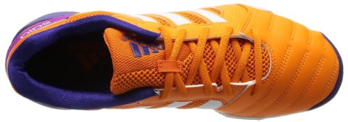 adidas - Zapatillas de estar por casa para hombre Orange (Bahia Orange/Collegiate Purple/White)