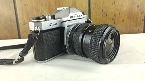 Pentax Asahi K1000 SLR 35mm Film Camera with Lens Combo Pentax Leather