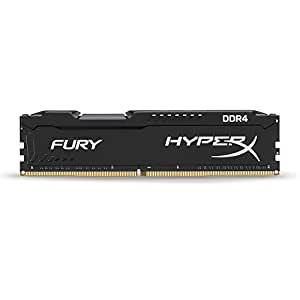 Kingston HyperX FURY Black 8GB 2133MHz DDR4 Non-ECC CL14 DIMM Desktop Memory (HX421C14FB/8)