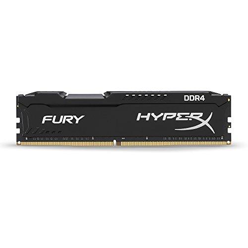 Kingston HyperX FURY Black 8GB 2133MHz DDR4 Non-ECC CL14 DIMM Desktop Memory (HX421C14FB/8)