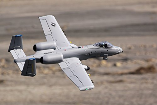 (FMS A-10 Twin 70mm Ducted Fan EDF Grey Super Scale RC Airplane Jet 6S PNP (No Radio, Battery, Charger))