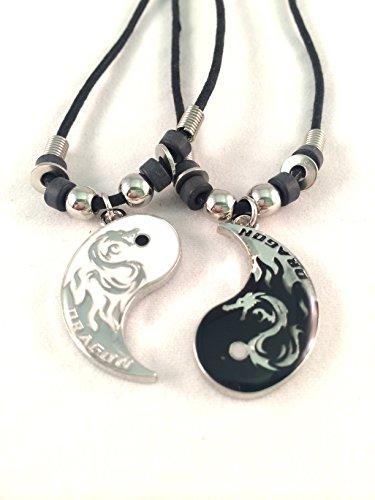 NEW BEST FRIEND Dragon Yin Yang 2 Pendan