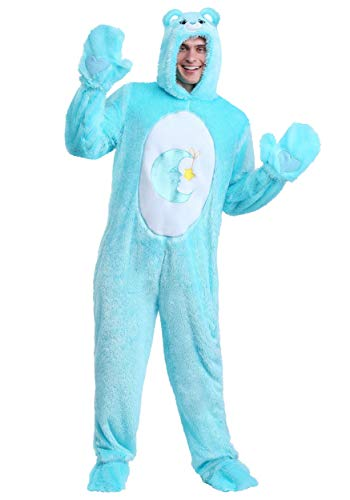Care Bears Adult Classic Bed Time Bear Costume Large Blue]()