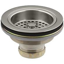 KOHLER K-8799-BN Duostrainer Sink Strainer, Vibrant Brushed Nickel