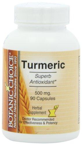 Ботанический Выбор Куркума, 500 мг, 90 капсул (в упаковке 5)