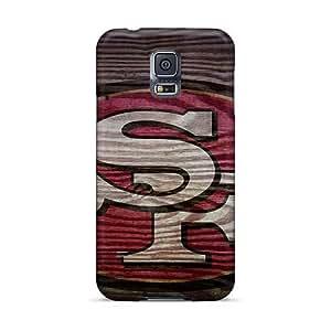LavernaCooney Samsung Galaxy S5 Shockproof Hard Phone Cases Customized Realistic San Francisco 49ers Image [kVz20581ERPZ]