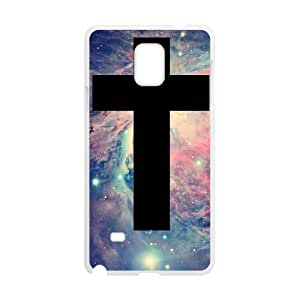 C-Y-F- America Flag And Cross Phone Case For Samsung Galaxy note 4 [Pattern-6]