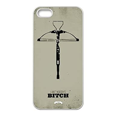 Jzqz iPhone 4 4s Cell Phone Case White The Walking Dead