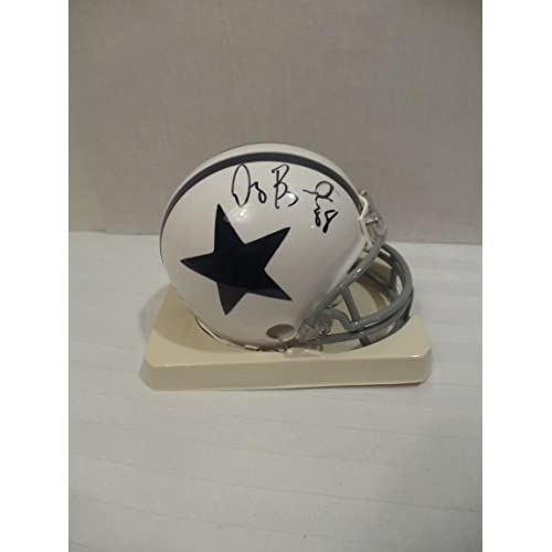 Dez Bryant Signed Dallas Cowboys Autographed Riddell Mini