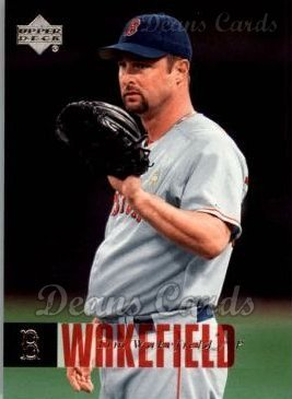 2006 Upper Deck # 84 Tim Wakefield Boston Red Sox (Baseball Card) Dean's Cards 8 - NM/MT Red Sox