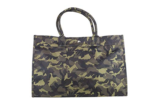 (Camouflage Tote Bag (Green Camouflage) )