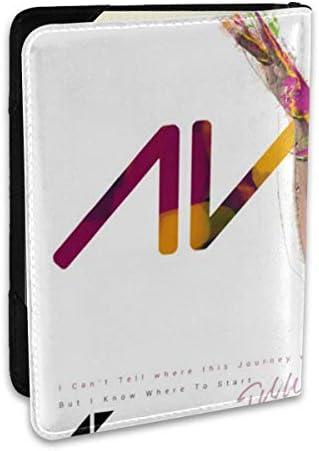 Avicii アヴィーチー パスポートケース メンズ 男女兼用 パスポートカバー パスポート用カバー パスポートバッグ ポーチ 6.5インチ高級PUレザー 三つのカードケース 家族 国内海外旅行用品 多機能