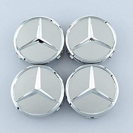 YLSY Tapacubos centrales para Mercedes Benz 75 mm - Tapas ...