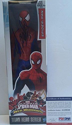 LEGEND!!! Stan Lee MARVEL Signed SPIDER-MAN 12in Action Figure #1 PSA/