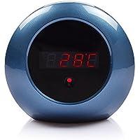 CBINHUANG HD 1080P Hidden Camera Alarm Clock Home Security Cam Loop Video Recorder Remote Controller Operation