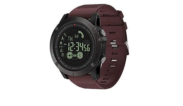 WTTDHK Reloj Inteligente Robusta Pulsera Smartwatch Registro de ...