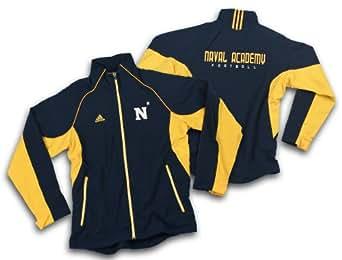 Amazon Com Adidas Us Naval Academy Mens Football Jacket
