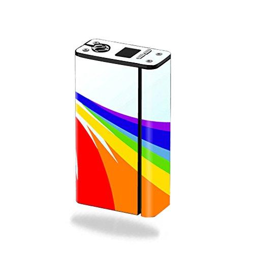 MightySkins Skin for Smok XCube Mini 75W – Rainbow Flood | Protective,...