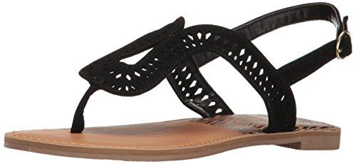 Qupid Womens Athena 1023a Flat Sandal