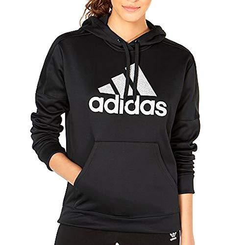 adidas Women's Originals Shine Logo Hoodie Black