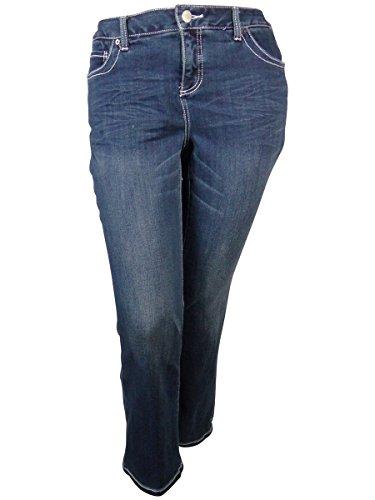 Wash Slim Bootleg Jeans - 4