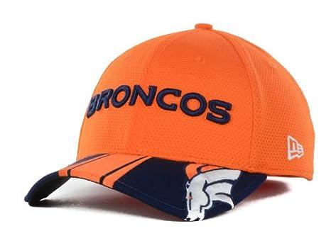 Image Unavailable. Image not available for. Color  Denver Broncos NFL New  Era 3930 Small   Medium Helmet Style Flex Fit Hat ... 229753462