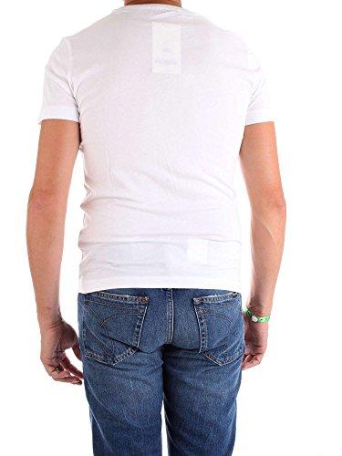 Xl Blanc J30j307854 Homme Mc Calvin T shirt Klein xOHqcB0Y