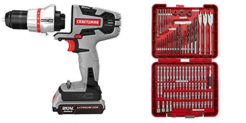 Craftsman | Best Handyman Drill Driver & Bit Set PLUS Bundle