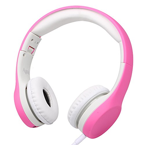 Wired Volume Limited Kids Headphones with Microphone and Music Sharing for Boys...