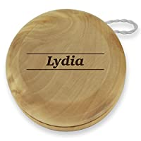 Dimension 9 Lydia Classic Wood Yoyo with Laser Engraving