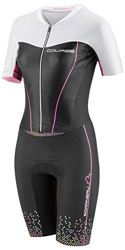 Louis Garneau - Women's Tri Course LGneer Cycling Skin Suit, Course Multicolor, Medium ()