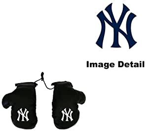 New York Yankees Car Truck SUV Rearview Mirror Mini Small Boxing Gloves