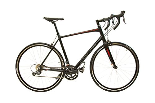 Alton Corsa Thunder Aluminum Road Bike, Black, Large Alton
