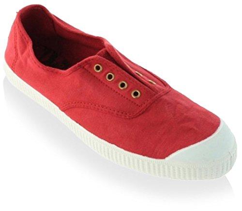 Sneaker Inglesa Elastico Fashion Rojo Victoria Women's 60wqZA7