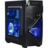 Gaming Computer Desktop PC AMD 3.7GHz Quad Core CPU, 8GB DDR3, GTX 950 2GB, 1TB HDD, Windows 10 PRO