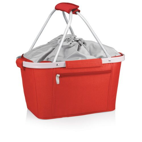 ONIVA - a Picnic Time Brand Metro Insulated Basket, Red