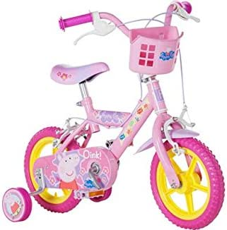 Peppa Pig 12 pulgadas de bicicletas - Girls .: Amazon.es ...