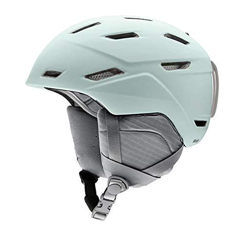 Smith Optics Mirage Women's Ski Snowmobile Helmet - Matte Ice/Medium ()